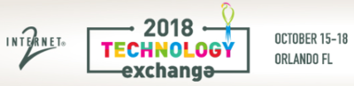 Internet2 Technology Exchange (TechEX) 2018