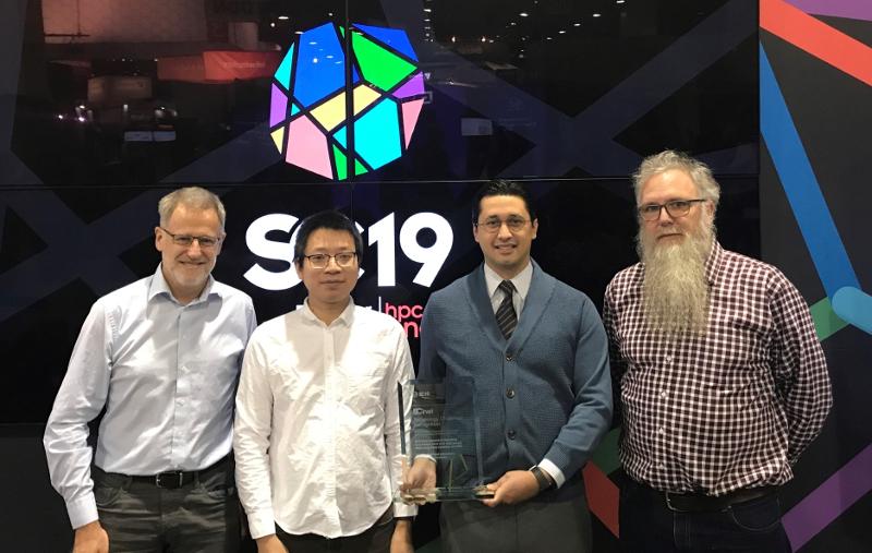 Globus team wins SC19 Scinet Technology Challenge