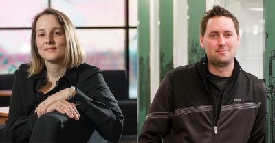 Argonne's Katrin Heitmann and UChicago Globus' Kyle Chard